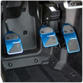 NRG Fitted Pedal Covers for the Polaris Slingshot (Set of 3) (2017-18)