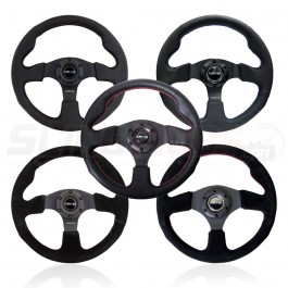 NRG RST-012 Round Race Series Steering Wheels for the Polaris Slingshot