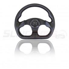 NRG Full Carbon Fiber Flat Bottom Steering Wheel