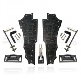 PB1 Front Floorboard Kit with Highway Pegs for the Can-Am Spyder F3 / F3S / F3T (Pair)
