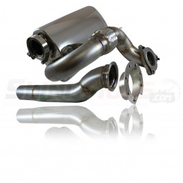 Alpha Powersport Side Exit Exhaust for the Polaris Slingshot