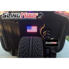 TricLED LED American Flag / USA Flag for the Polaris Slingshot