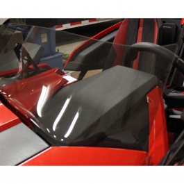 F4 Tinted / Non Tinted Windshields for the Polaris Slingshot