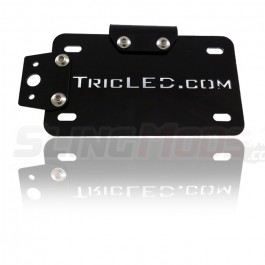 TricLED Swingarm License Plate Relocator Kit for the Polaris Slingshot