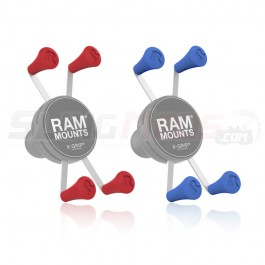 Ram Mount X-Grip Colored Rubber End Caps (Set of 4)