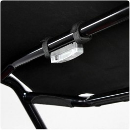 Overhead LED Cabin Light for Tubular Frame Roof Top Systems on the Polaris Slingshot (Single)