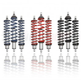 Rev Dynamics RideTech 2-Way Adjustable HQ Series Shocks for the Polaris Slingshot (Set of 3)