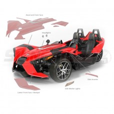Slingfx Precut Clear Paint Protection Film for the Polaris Slingshot