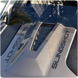 Slingfx Precut Vinyl Customizable Hood Lettering Kit for the Polaris Slingshot (Pair)