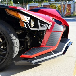 Slingfx Precut Vinyl Stealth Series Front Decal Kit for the Polaris Slingshot (6 Pieces)