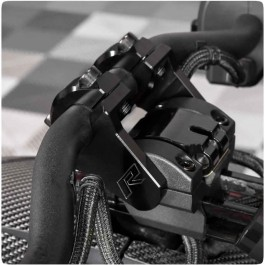 """Rox Speed FX Fitted 2"""" Pivoting Handlebar Riser Kit for the Can-Am Ryker"""
