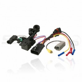 Scosche Aftermarket Stereo Power Harness with OEM Backup Camera Integration for the Polaris Slingshot (2015-17)
