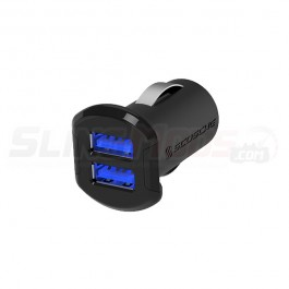 Scosche ReVolt Dual 2.4A USB Phone / Tablet Charger with Illuminated Ports