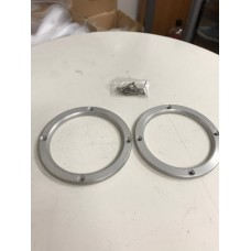 Small Blemishes - Aluminum Cup Holder Trim Rings for the Polaris Slingshot (Pair)