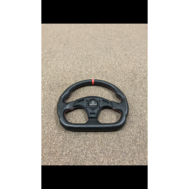 Used on Shop Vehicle - Red Assault Industries Ballistic D-Shape Steering Wheels for the Polaris Slingshot
