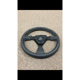 Small Blemishes - White Assault Industries Tomahawk Round Steering Wheel for the Polaris Slingshot