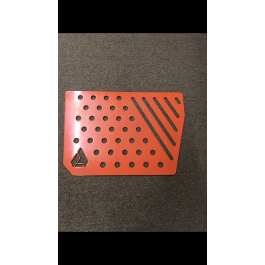 Damaged / Scratched - Orange Assault Industries Passenger Side Kick Plate for the Polaris Slingshot