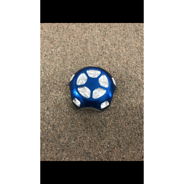 Discontinued / new - Blue Billet Aluminum Anodized Gas Cap for the Polaris Slingshot