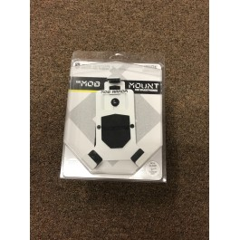 Close Out - Large White Mob Armor Switch Cell Phone / GPS Holder for the Polaris Slingshot