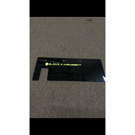 Open Box / New - Lime Squeeze Rally Armor Swingarm Mud Flap / Rock Guard for the Polaris Slingshot