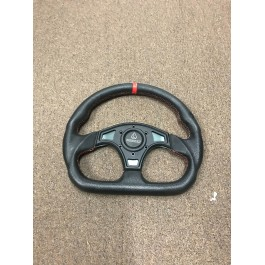 Used - Red Assault Industries Ballistic D-Shape Steering Wheels for the Polaris Slingshot (Ver 1.0)