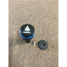 Blemished - Blue Ring Assault Industries Stealth Series Shift Knob for the Polaris Slingshot