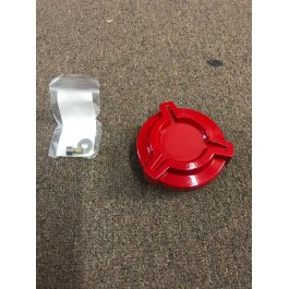 Open Box - Gloss Red DDMWorks Billet Aluminum Gas Cap for the Polaris Slingshot