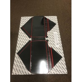 Returned / New - Foamskinz Dashboard Cover with Optional Custom Text Field for the Polaris Slingshot (Set of 2)