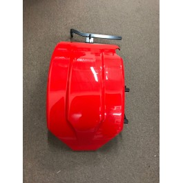"Used for Pictures - Pearl Red Metricks ""Bolt-On"" SLR Series Rear Hugger Fender for the Polaris Slingshot"