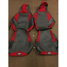 Returned - PRP Customizable Seat Covers with Heated Seat Add On for the Polaris Slingshot 2015-2016 Standard Seats(Pair)