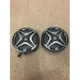 """Used / Blemished - SSV Works 6.5"""" Marine Coaxial Speakers with Colored Grille Option (Pair)"""