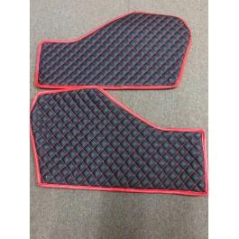 Used - Status Custom Upholstered Transmission Tunnel Covers for the Polaris Slingshot (Pair)
