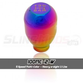 NRG Weighted Multi Color (SK-100MC-2-W) Egg Style Shift Knob