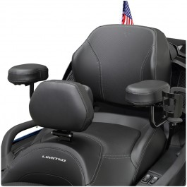 Passenger Armrests for the Can-Am Spyder F3 Limited (All years) & RT Limited (2020+) (Set of 2)