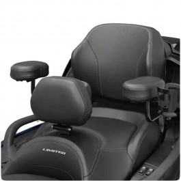 Black Passenger Armrests for the Can-Am Spyder F3 Limited (All years) & RT Limited (2020+) (Set of 2)