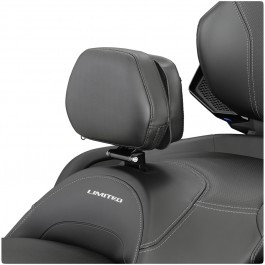 Show Chrome Adjustable Padded Driver Backrest with Storage Pouch for the Can-Am Spyder RT (2020+)