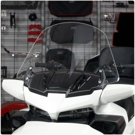 Show Chrome Clear Touring Windshield for the Can-Am Spyder F3T / F3 Limited
