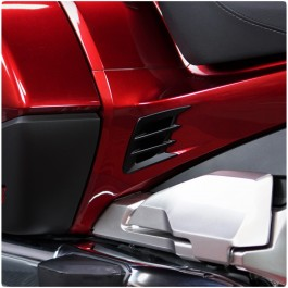 Show Chrome Side Panel Vent Accents for the Honda Gold Wing (Set of 2) (2018+)