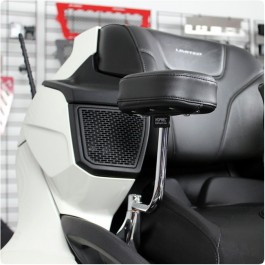 Show Chrome Passenger Armrests for the Can-Am Spyder RT (Set of 2)