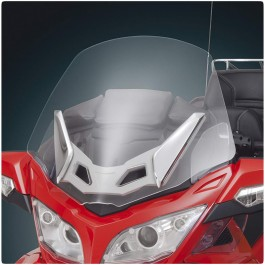 Show Chrome Wide Clear Touring Windshield for the Can-Am Spyder RT
