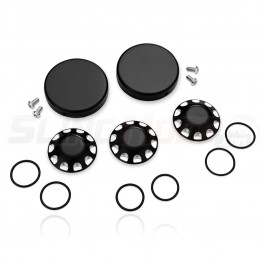 Aluminum Axle Cap Set & Wheel Bearing Covers for the Can-Am Ryker (5 Piece Kit)