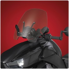 Show Chrome Adjustable Windshield for the Can-Am Ryker