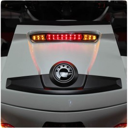 Show Chrome Trunk Mounted Run, Brake & Turn Signal LED Light Kit for the Can-Am Spyder RT