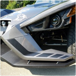 Slingfx Precut Vinyl SLR LE Style Front Wing Decal Kit for the Polaris Slingshot (Pair)