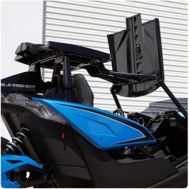 Slinglines Flip Top Modular Roof System for the Polaris Slingshot