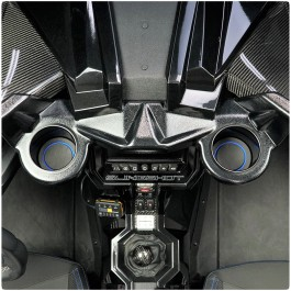 Foamskinz Cup Holder Inserts for the SlingLines Dash Mounted Cup Holders for the Polaris Slingshot (Pair) (2015-19)