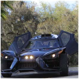 Slinglines Full Enclosure System for the Polaris Slingshot (2015-19)