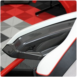 Carbon Fiber Arm Rest Replacement Panels for the Polaris Slingshot (Set of 2)