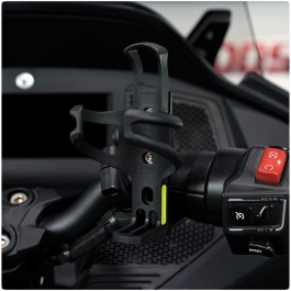 Driver Handlebar Mount Drink / Cup Holder Kit for the Can-Am Spyder RT (2020+)