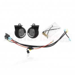SpyderExtras Black Dual Horn Kit for the Can-Am Spyder RT (2020+)